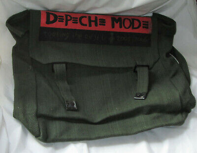 Green Vintage Depeche Mode 2005/2006 Touring The Angel Backpack