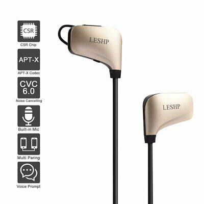 Wireless Bluetooth Headphones with Noise Cancelling In-Ear Stereo Earphones EH