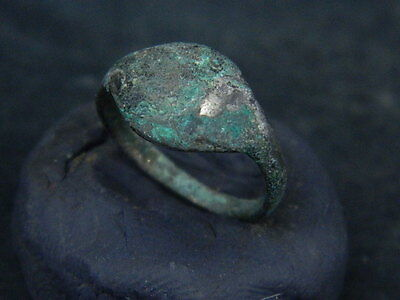 Ancient Silver Ring Medieval 1400 AD No Reserve #BR512