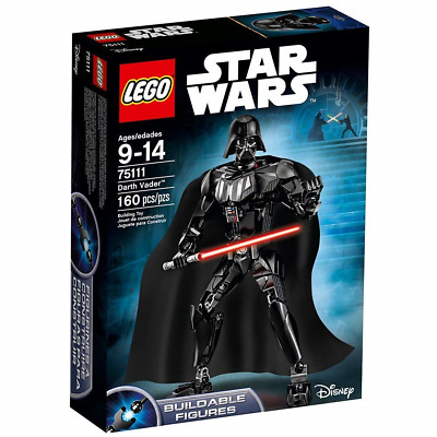 Lego Star Wars 75111 Darth Vader Buildable Figure Brand New Sealed Free UK P&P