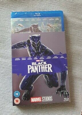 Black Panther (DVD, 2018) blue ray BRAND NEW - disk box in cellophane