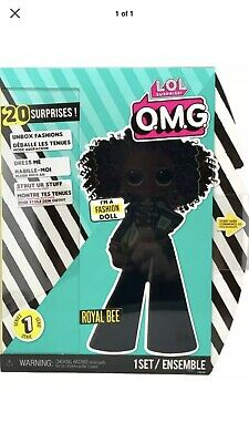 """LOL Surprise OMG Royal Bee 10"""" Fashion Doll Big Sister Queen Series 1 - In Hand"""