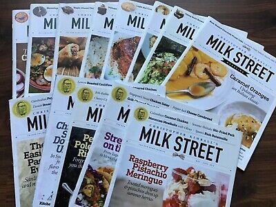 Milk Street Home Cooking Magazine Lot 13 Christopher Kimball 2016-2019