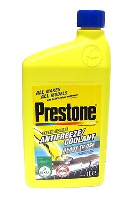 Coolant Prestone Ready to use & compatible with any coolant