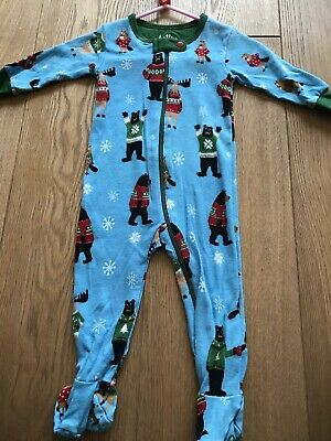 Hatley Christmas Babygrow 0-3 Months. New Without Tags.