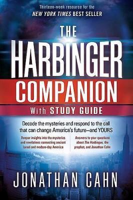 FREE SHIPPING!!! The Harbinger Companion With Study Guide - Jonathan Cahn