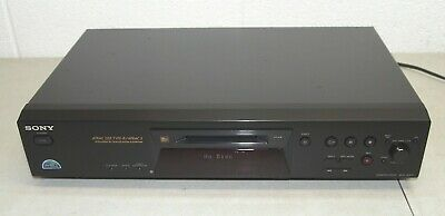 Works! Sony MINIDISC Player Recorder #MDS-JE470 - MD Mini Disc Deck Component