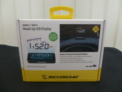 Scosche Heads Up LED Display