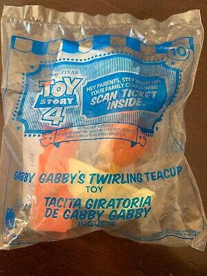 2019 McDonalds TOY STORY 4 Happy Meal Toy GABBY GABBY'S TWIRLING TEACUP #10