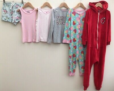 Girls Nightwear Bundle 6-7 Next George F&F <D8003
