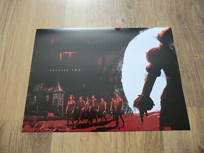 "It Chapter Two Odeon Exclusive Poster 12"" X 8"" Brand New"