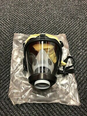 Survivair Panther 252026 Full Face SCBA Mask Respirator with Nosecup MED - NEW