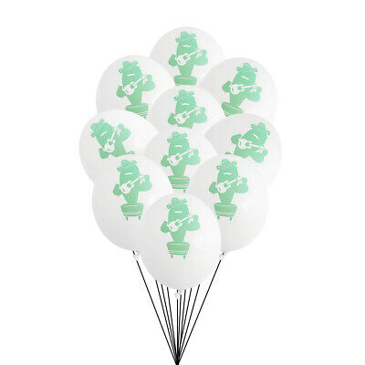10pcs Balloon Beautiful Latex Printing Hawaii Supplies for Gathering Party