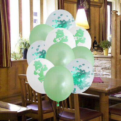 15pcs Balloon Party Rock Cactus Printing Hawaii Supplies for Gathering