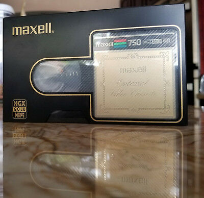PAUL McCARTNEY / CHRISTINE McVIE - Maxell HGX 750 GOLD Beta HiFi SOLD as BLANK