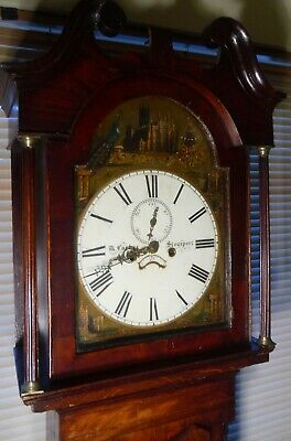 "Antique Oak  "" Stourport  ""  8 Day     Longcase / Grandfather Clock"