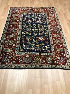 Antique Traditional Handmade Fine Perssian Kaashaan Rug Carpet 192X141 Cm