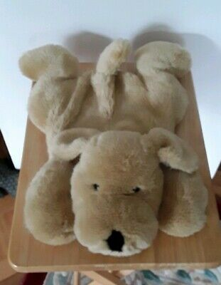 Fur Fabric Dog Hot Water Bottle Cover M& S