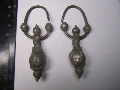 Ancient silve. Ancient silv earrings Byzantine silv (10-12 century)100% original