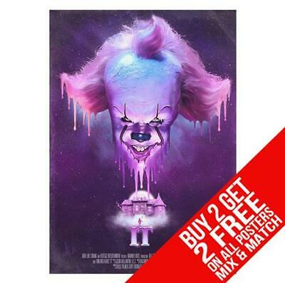 It Chapter 2 Pennywise Poster Art Print A4 A3 Size - Buy 2 Get Any 2 Free