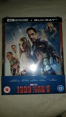 Iron Man 3 [Blu-ray 4K UHD & 2D Steelbook - Zavvi Exclusive] NEUF (VF incluse)