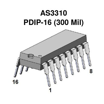 As3310 (~ Cem3310) Adsr - Dip-16 - Alfa Rpar