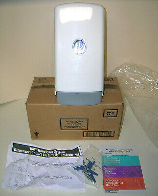Kay 3741 Hand Care System Soap Dispenser White w/ Mounting Hardware Instructions