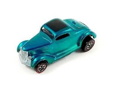 Hot Wheels - Redline - Classic '36 Ford Coupe - 1969 - Graqua - US - Very good