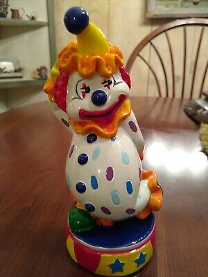 Vtg. Clown Bank Marked R.O.C. Taiwan