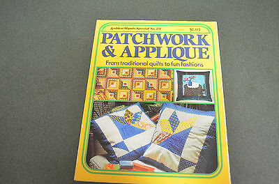 Patchwork & Applique Book-Golden Hands Special #23