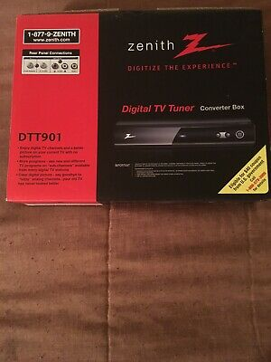 Zenith DTT901 Digital TV Tuner Converter Box New