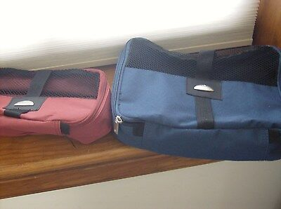 EUC Samsonite Luggage Organizers - Large Navy & Medium Burgundy