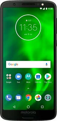 Motorola Moto G (6th Generation) - 32GB - Black (Unlocked) (Single SIM) - VG