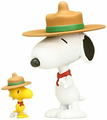 UDF PEANUTS Series 3 BEAGLE SCOUT SNOOPY & WOODSTOCK made of non-scale PVC Pain