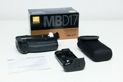 Original Nikon MB-D17 Multi-Power Battery Pack Grip for Nikon D500 DSLR