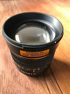 Rokinon 85mm f/1.4 AS IF EF mount