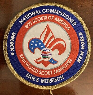 2019 24th World Scout Jamboree  Badge Patch Key Three Ellie Morrison