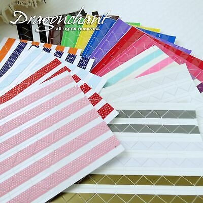 102pcs Photo Mounting Corner Stickers Self Adhesive Picture Album