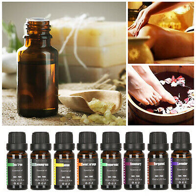 Natural 100% Pure 10ml Essential Oils Aromatherapy Essential Oil Fragrance Aroma