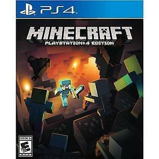 Minecraft -- PlayStation 4 Edition (Sony PlayStation 4, 2014) PS4 with Case