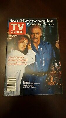 TV Guide Sept. 1984 Stacy Keach. Mistral's Daughter. L.A. edition Never used.