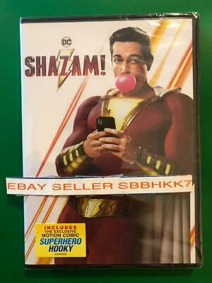 Shazam! DVD 2 DISC EDITION AUTHENTIC Brand New Free Shipping