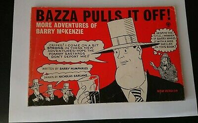 VINTAGE Bazza Pulls It Off! ~ More Adventures of Barry McKenzie Paperback 1971