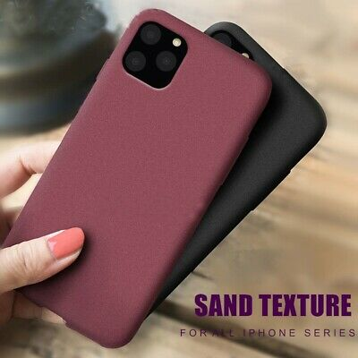 Case for iPhone 11 Pro Max XR XS MAX 8 ShockProof Soft Phone Cover TPU Silicone