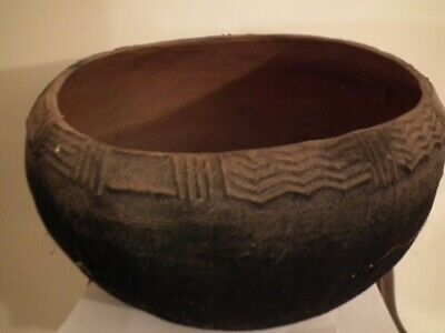 Early 1900s Papua New Guinea Trobriand Islands Cooking Bowl / Pot