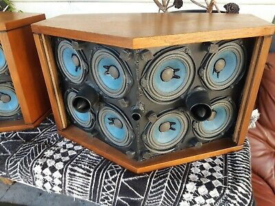 Vintage Bose 901 Series 3 Speakers