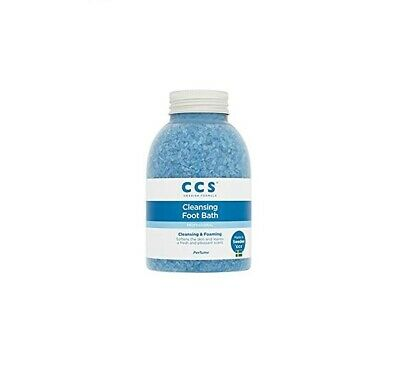 CCS Cleansing Foot Bath Salts, Perfumed, 470g