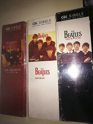 BEATLES 3 CD3 singles SS US long box Please please me-Love me do-From me to you