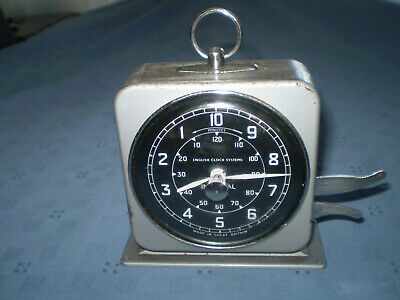 vintage smiths english clock systems interval timer, spares or repair