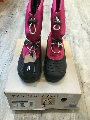 Sorel Super Trooper Snow boots youth children insulated very pink